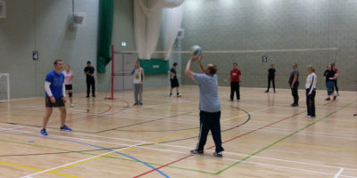 Indoor Volleyball At East Riding Leisure Bridlington