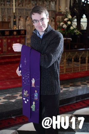 Minster Congregation Present Unique Parting Gift To Popular Curate