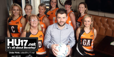 Tiger Inn Back Beverley Netball Club By Funding New Playing Strip