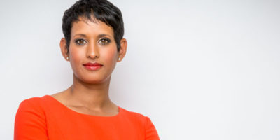 BRIDLINGTON : Naga Munchetty To Host The Business Day