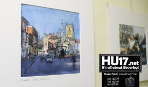 Pop Up Exhibition of Watercolours By David Thompson