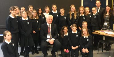 Graham Stuart MP Goes 'Back to School' At Beverley High