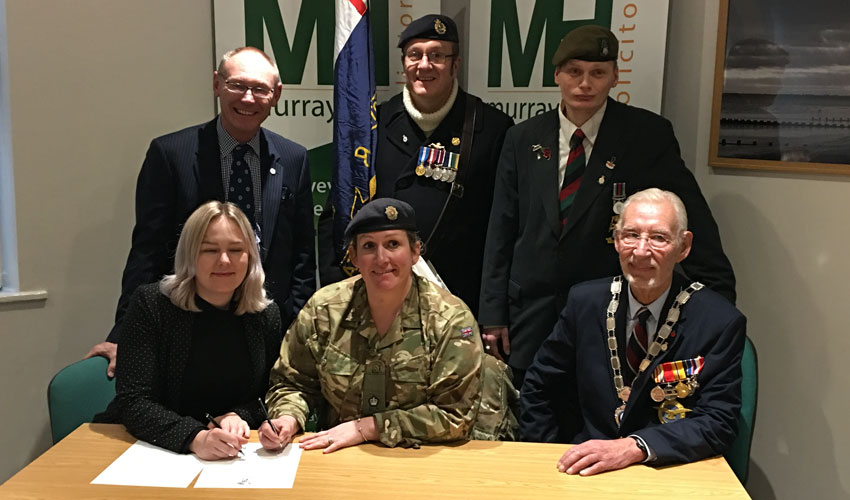 East Yorkshire Law Firm Pledges Its Support To UK Armed Forces