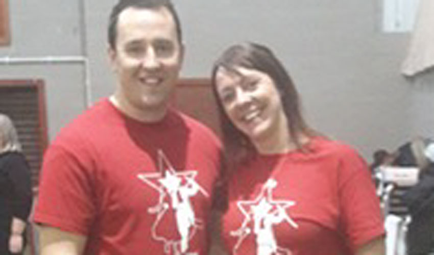 Swapping Football Boots For Dancing Shoes in Aid of Charity