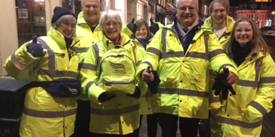 Local Councillor Continues His Support For Beverley's Street Angels