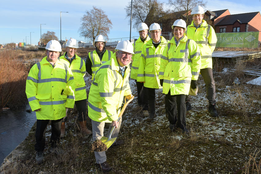 Work Starts On New Green Space For Bridlington