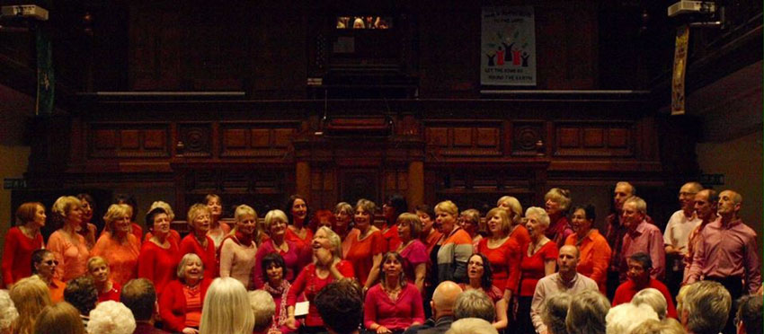 The Beverley Community Choir Present Voices and Violins