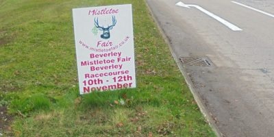 Firm Advertising Christmas Event In Beverley Fined By Council