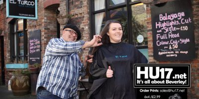 Sophie Day Gives Up Her Hair To Aid Two Children's Charities