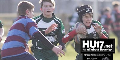 Beverley RUFC U13s Show Great Heart As They Reach Cup Final