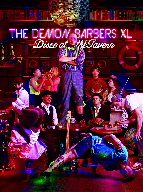 The Demon Barbers XL To Headline At Beverley Folk Festival
