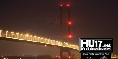 Roadworks Resume Over The Humber Bridge