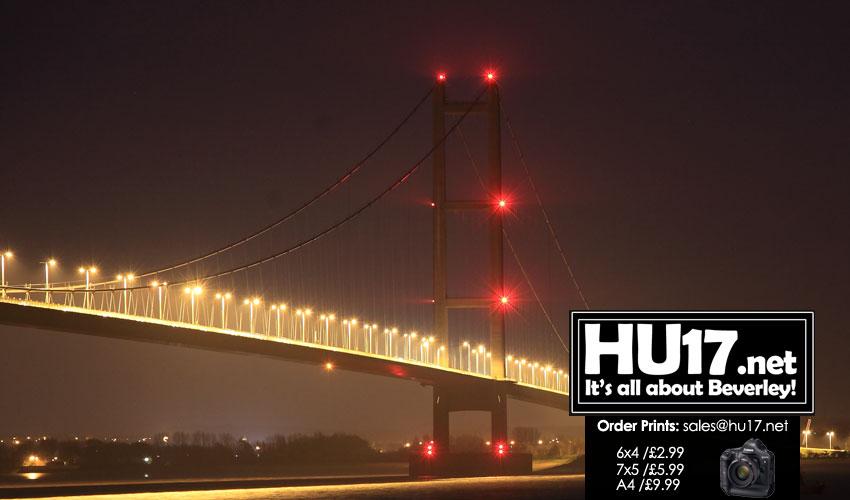 Roadworks Resume Over The Humber Bridge