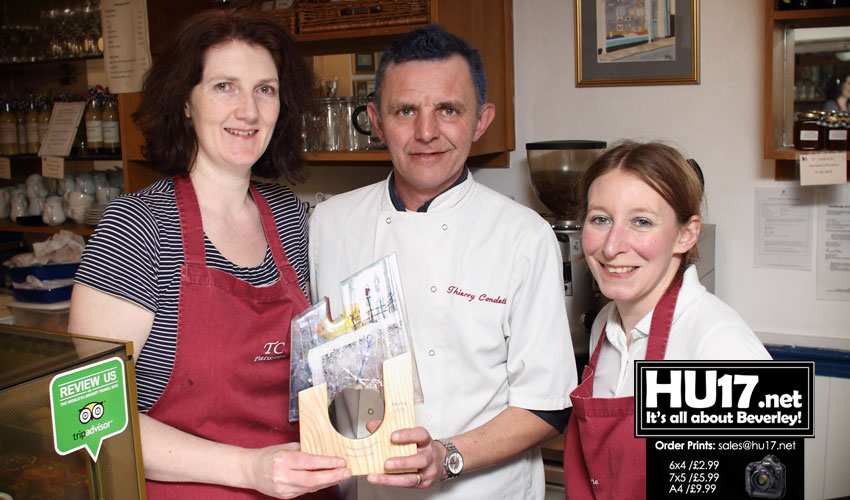 T C Patisserie Win Remarkable Cuppa Award