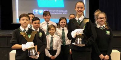 Longcroft Students Get Their Hands Top Cycling Trophies