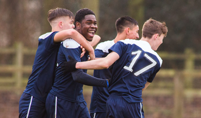 Bishop Burton College Reach National Football Play-Offs
