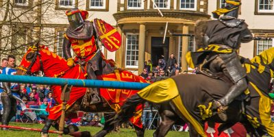 Medieval Jousting And More At Sewerby Hall And Gardens This Easter