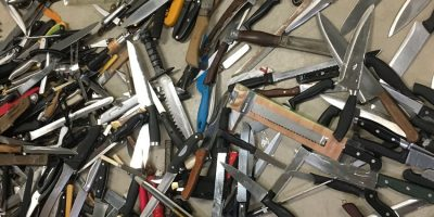 Hundreds Of Knives Taken Off The Streets Following Police Amnesty
