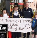 Park and Stride –  St. Mary's Primary School's Walking Bus