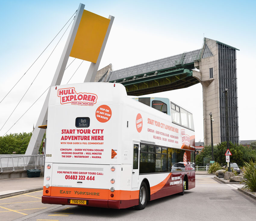 Hull's City Open Top Bus Tours Return - And They Are Better Than Ever