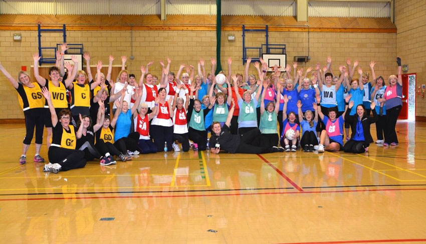 Walking Netball Celebrates Third Anniversary In The East Riding