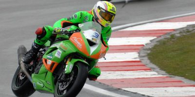 James Westmoreland Enjoys a Good weekend At Donnington Park