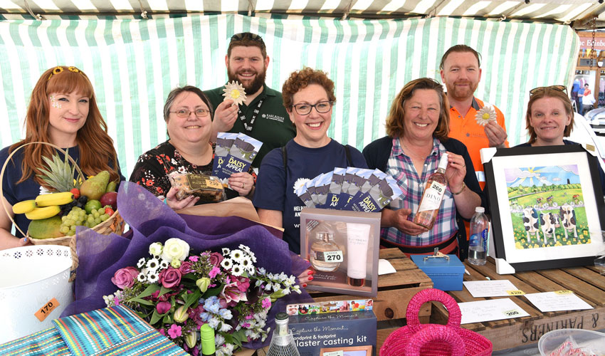 Beverley Market Traders Raise More Than £2,000 For Hospital Appeal