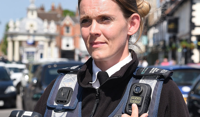 Body Cameras Issued To Traffic Wardens To Help Tackle Abuse