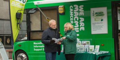 Macmillan Mobile Information Support Service Bus To Visit Beverley