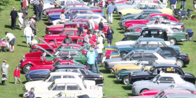 Vehicle Rally By East Yorkshire Thoroughbred Car Club