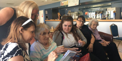Care Home Residents Enjoy A VIP Day At Beverley Races
