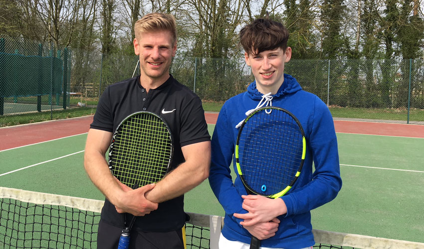 Tennis Coach Takes On 24-hour Challenge For Sport Relief
