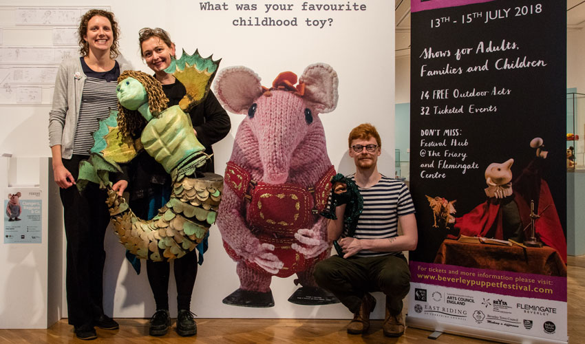 Puppet Enthusiasts Encouraged To Stay Longer In East Yorkshire