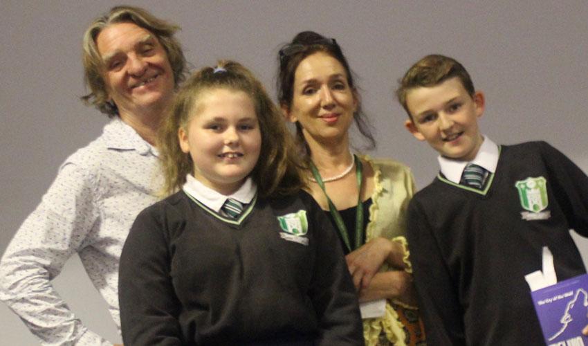 Acclaimed Author Melvin Burgess Visits Longcroft School