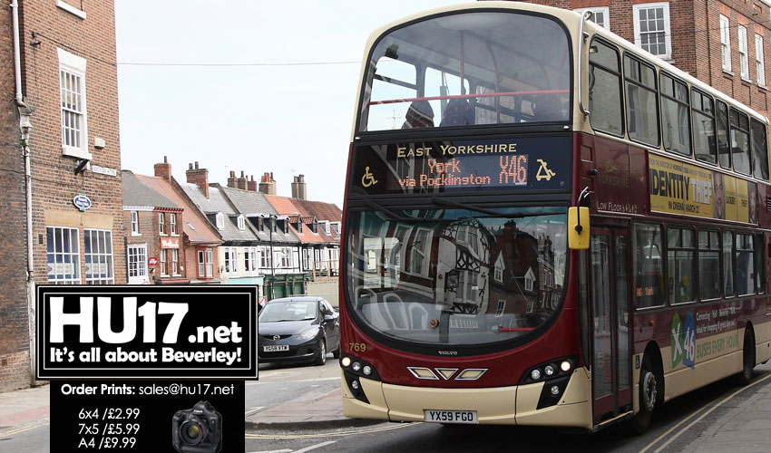 Slight Change To Bus Routes During Beverley Road Works