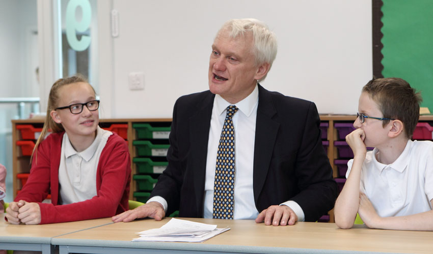 Beverley MP Says Pupil Safety Is Top Priority After St Nicholas Primary School Visit