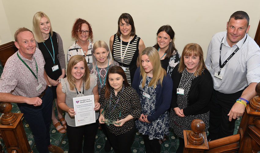 Families First Quality Award For East Riding