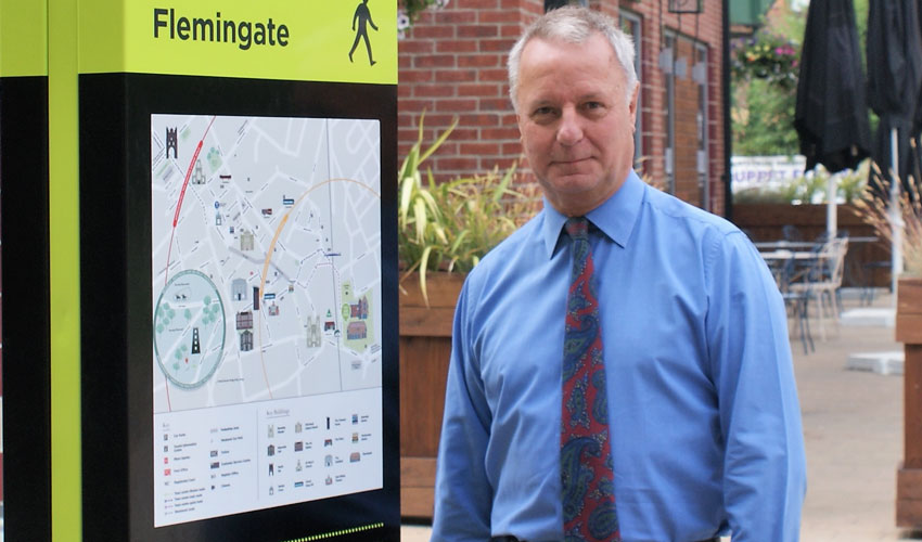 Pavement Signs To Be Installed Between Retail Park And Town Centre