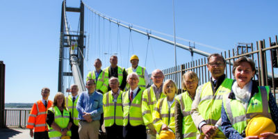 Civic Day Celebrates Humber Bridge's Place At Heart Of Community
