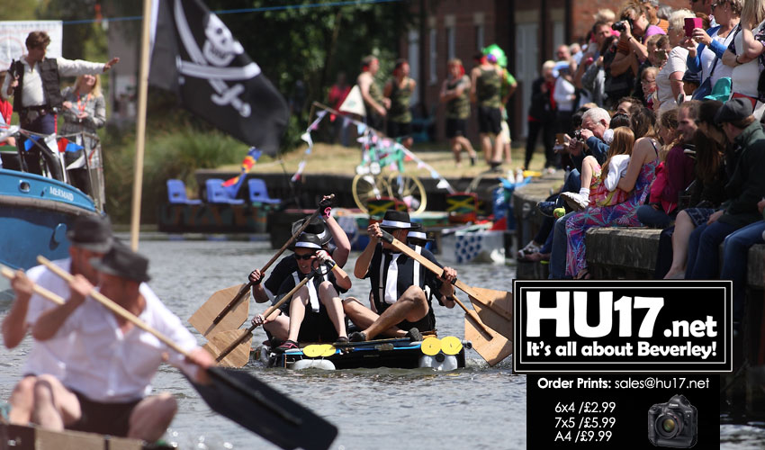 Raft Race Organisers Hope People Will Give Generously At 2018 Event