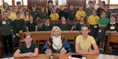 Beverley Primary School Pupils Go To The Polls In Mock Election