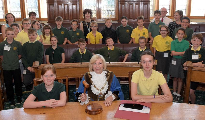 Beverley Primary School Pupils Go To The Polls In Mock Election