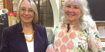 Val Wood Marks 100 Years Of Suffrage With 'Women's Writes'