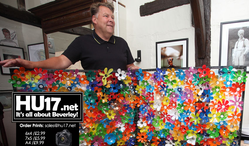 Vinyl Record Shop Owner Embraces The Spirit Of Beverley In Bloom In Ladygate