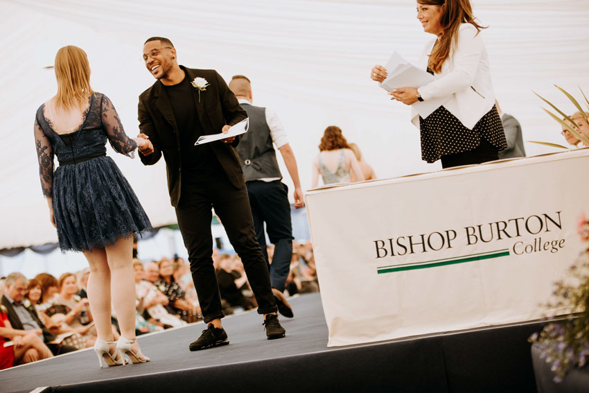 Documentary Maker Reggie Yates Helps Students Celebrate Success