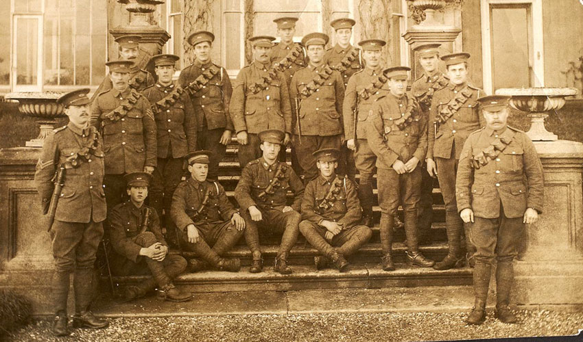 New Web Pages Tell The Story Of A Local Regiment In The First World War