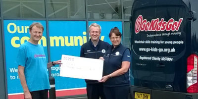 Go Kids Go! Award £2000 After Winning Bags of Help Incentive