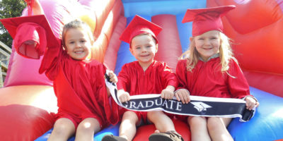Cherub Nurseries Celebrate As They Bid Farewell To Leavers