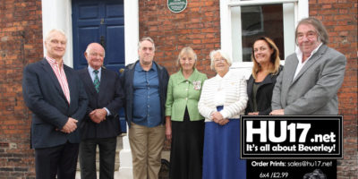 Green Plaque Unveiled To Honour Beverley's Most Famous Woman