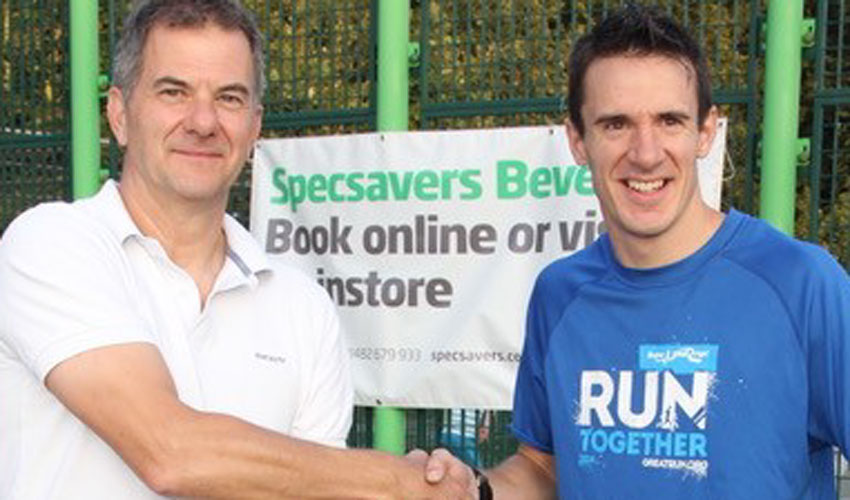 Specsavers Beverley Extend Their Sponsorship Deal With Beverley AC